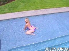 Jules Jordan - Alexis Texas Jännittää Jules Jordanin Cock kanssa Anal Sex