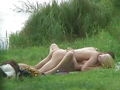Got Caught While Fucking Outdoors