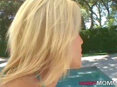 blonde lesbian licks teen sex