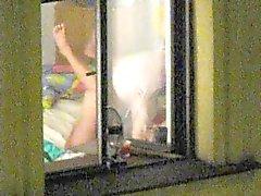 Paar in het venster ( eerste deel )