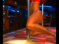 Tanned Sin Saga - Pole Dancing
