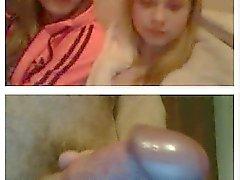 Reação webcam de a dickflash repentino