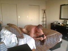 MILF cheater having sex on cam