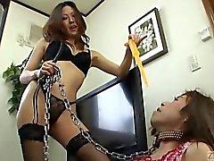 Subtitle Japanese dominatrix and crossdresser