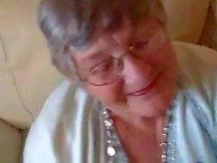 BBW Granny BJ with nice facial