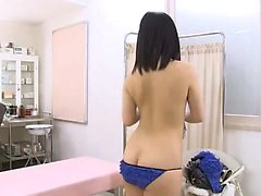 Asian amateur in bikini and maid uniform
