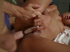 Sexig tonåring borttagningsmedel knullas av big cock
