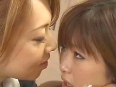 Yumi Kazama And Rio Hamasaki Are Making Love In Classroom