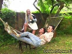 Goldenshower lezzies toy