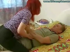 Busty amateur mature mother son sex