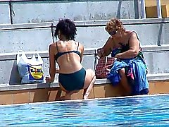 candid swimmingpool compilation