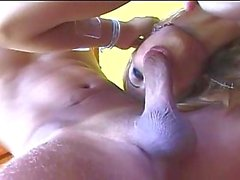 Titty Slut Gets Pounded On A Balcony