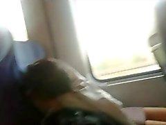upskirt teen beauty in the train