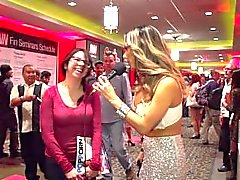 Porn Talk with Nadia Styles 2015 AVN Audience Interviews