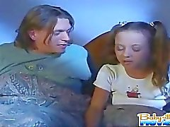 Teen babysitter has nightmare about a giant people eating pussy