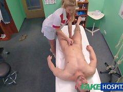 FakeHospital Nurse seduces IT stud