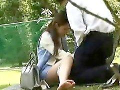 Officegirls fuck in Public 2