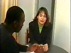 Esposa anal francês fodida por BBC
