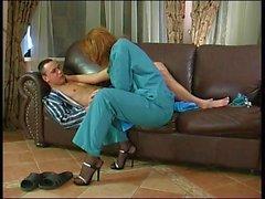 Russian milf (fake nurse).