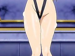 Swimsuit anime bigboobs gangbang in the beach