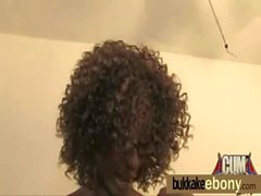 Ebony honey in group interracial sex orgy 11
