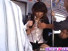 Misato Kuninaka gets much cum