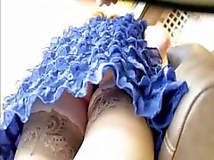 Russian Upskirt! Amateur Mixed!
