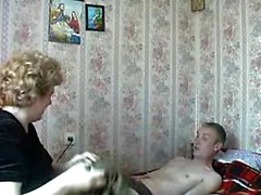 Mature amateur mom homemade on webcam