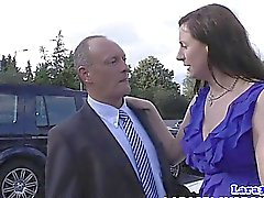 Classy mature bri fingered by older guy