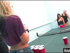 Brooke Banner and her friend get drilled