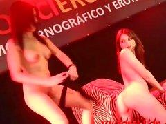 Carol Sevilla y Valentina bianco lesbian FEDA