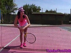 Solo tennis teen rubs