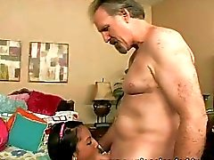 Old guy fucks the girl from next door