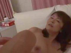 Bomber Boobs of Japanese Mom
