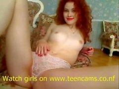 redhead teen pussy