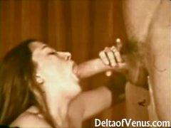 Год сбора винограда ХХХ - Джон Холмсе ебет по Волосатая брюнетка девочка