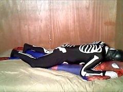 Karate Kid Skelett unerbittlich humps spiderman