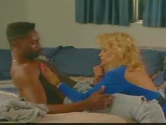 Classic 80s style interracial