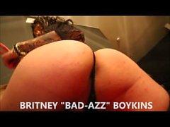 Tatoué Transexuel Britney Boykins Sexy Striptease Vidéo (NEW 2015)