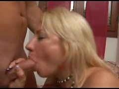 Cheating italian housewife with her younger lover