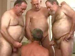 Vanha Daddies cocksucking Party