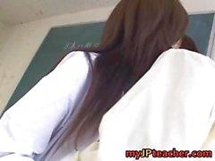 Mai Hanano Sexy Japanese teacher fucked