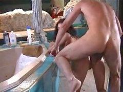 mathilda dans la baignoire