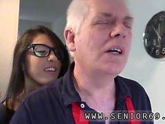 Old man fuck asian girl Carolina is wild and commences mastu