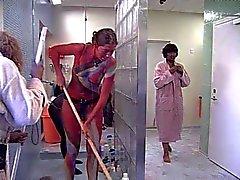 Big Brother groupe de du Danemark une douche