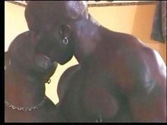 Große schwarze schwule Schwänze