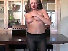 Meias de nylon borracho tentar sobre Meia Calça Sexy