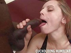 Sein großer schwarzer Schwanz kann mir den Orgasmus geben, den ich verdiene