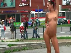 Gina in public