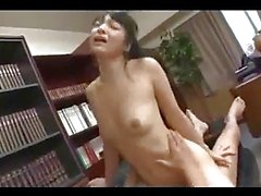 Secretary Getting Her Shaved Pussy Fucked By Her Boss Cum To Belly On The Couch In The Office